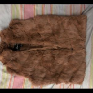🐇 rabbit fur Arden B Vest